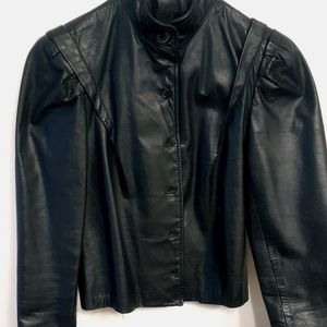 1970s Women's Leather Jacket